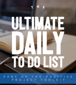 The Ultimate Daily To Do List